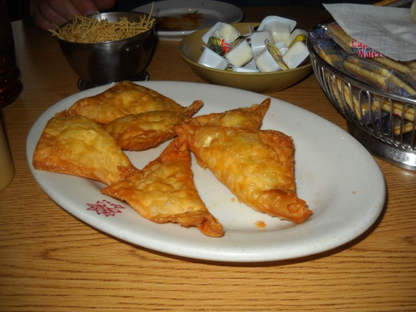 CRAB RANGOON $2.95