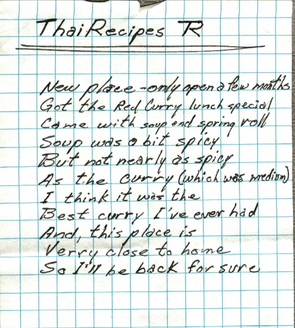 Thai Recipes 001